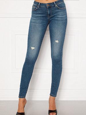 Only Carmen Life Reg Jeans Medium Blue Denim