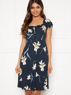 Happy Holly Tessan dress Dark blue / Patterned