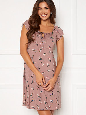 Happy Holly Tessan dress Dusty pink / Patterned