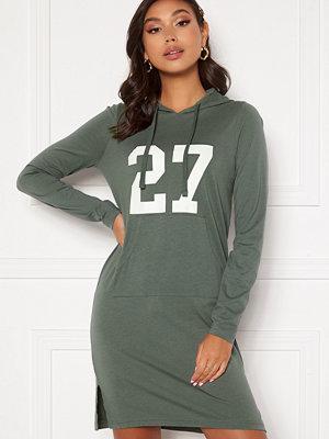 Happy Holly Camila tricot hood Khaki green