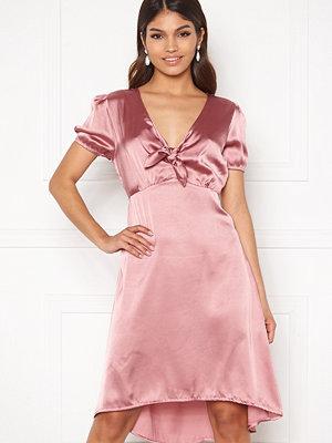 Happy Holly Therese Shiny Dress Lavender