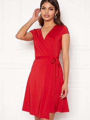 Chiara Forthi Sonnet Mini Wrap Dress s/s Red
