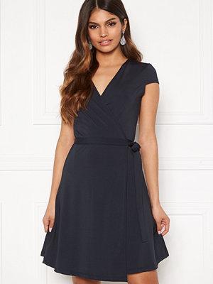 Chiara Forthi Sonnet Mini Wrap Dress s/s Dark blue