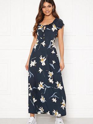 Happy Holly Tessie maxi dress Dark blue / Patterned