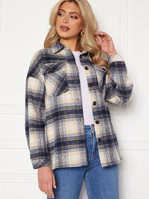 Skjortor - Rut & Circle Caroline Jacket Blue Check
