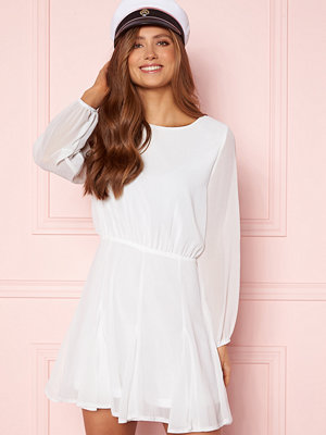 Ax Paris Flippy Skater Dress White