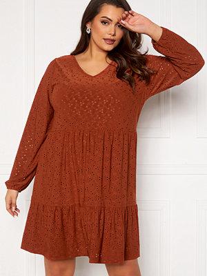 Only Carmakoma Zabby LS Knee Dress Arabian Spice