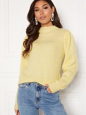 Selected Femme Lipa LS Knit Pastel Yellow