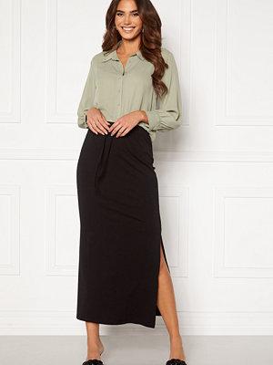 Object Stephanie Maxi Skirt Black