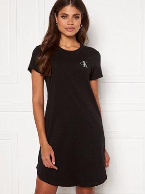 Calvin Klein S/S Nightshirt 001 Black