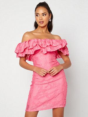 Vila Caroline S/L Dress Azalea Pink