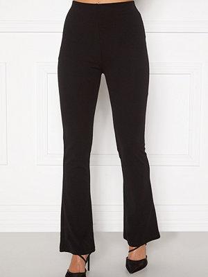 Sara Sieppi x Bubbleroom svarta byxor Soft Suit Pants