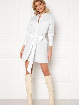 Sara Sieppi x Bubbleroom Belted Shirt Dress