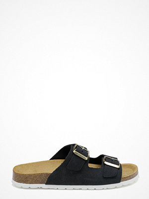 Only Madison Suede Slip On Navy Blue
