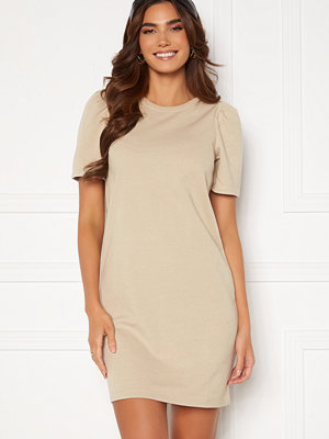 Only Dianna S/S O-Neck Dress Silver Lining