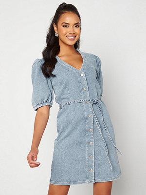 Selected Femme Sophia Mid Blue Dress Medium Blue Denim