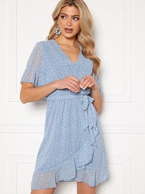 Sisters Point New Greto Dress 410 L.Blue/ Leo