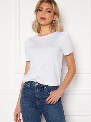 Vila Dreamers Puff T-Shirt Optical Snow
