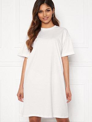 Pieces Ria SS Dress Bright White