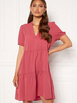 Only Nova Lux S/S Thea Dress Solid Baroque Rose