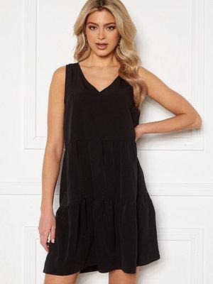 Vero Moda Olivia SL Peplum Dress Black
