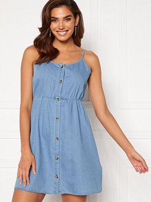 Vero Moda Flicka Strap Short Dress Light Blue