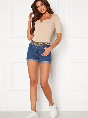 Vero Moda Nineteen Loose Shorts Medium Blue Denim