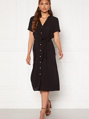 Vero Moda Saga SS Calf Shirt Dress Black