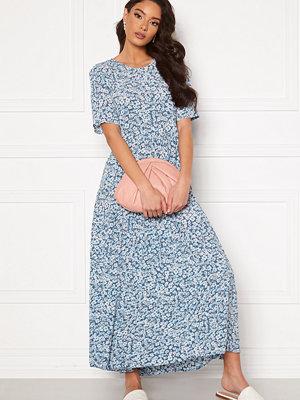 Only Amalie Life SS Midi Dress Vintage Indigo/Flora