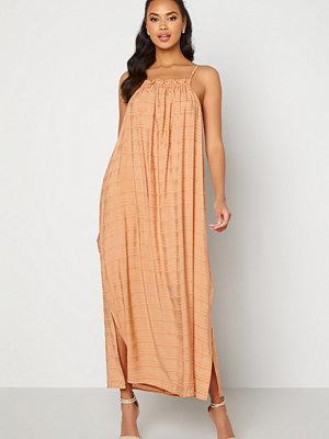 Object Rafia S/L Dress Shrimp