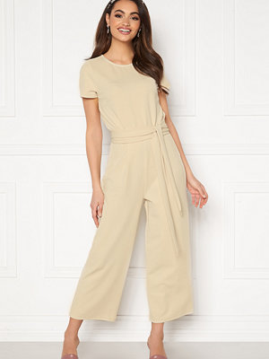 Jumpsuits & playsuits - Bubbleroom Morah jumpsuit Light beige