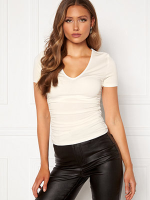 Chiara Forthi Carmelina ruched top White
