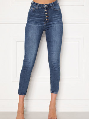 Trendyol Buttoned Front Jeans Lacivert/Navy