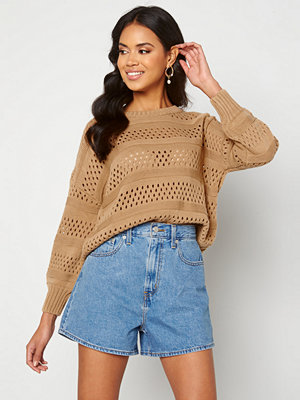 Trendyol Knitted Sweater Camel