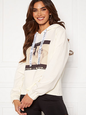 Kendall + Kylie K&K Active Photo Hoodie White