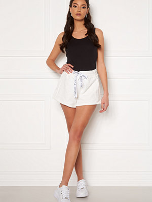 Kendall + Kylie K&K Active Inside Out Shorts White