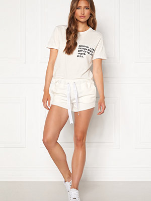 Kendall + Kylie K&K Active Turn Me On Shorts White