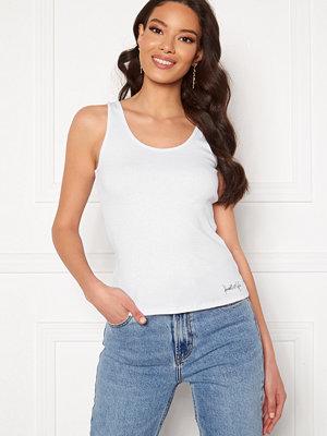 Kendall + Kylie K&K Basic Sleeveless Top White