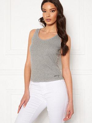 Kendall + Kylie K&K Basic Sleeveless Top Grey