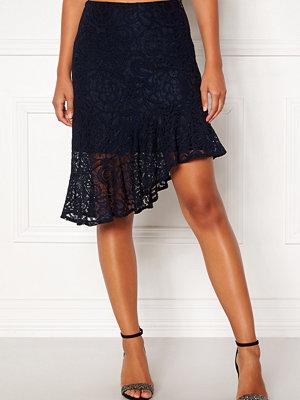 Vero Moda Lizz HW BLK Skirt Night Sky