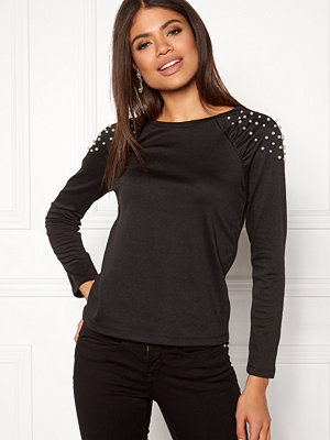 Happy Holly Alana top Black