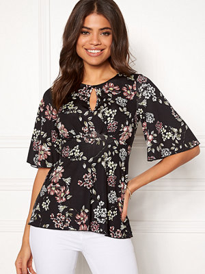 Happy Holly Clara top Black / Patterned