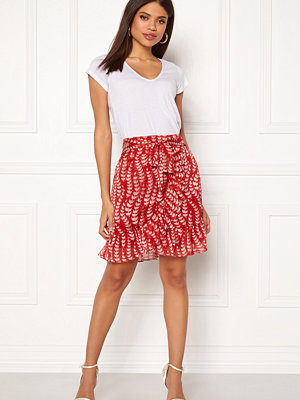 co'couture Oat Skirt Rio Red