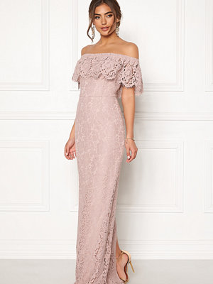 Moments New York Rose Lace Gown Dusty lilac