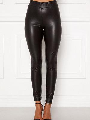 Only Superstar PU Leggings Black