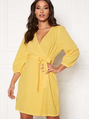 Vero Moda Helenmilo 3/4 Short Dress Banana Cream