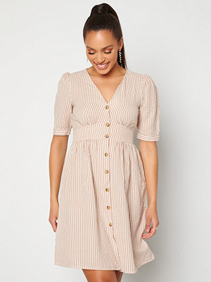 Pieces Tova Midi Dress Warm Taupe