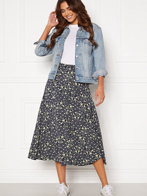 Object Fiona HW Midi Skirt Sky Captain