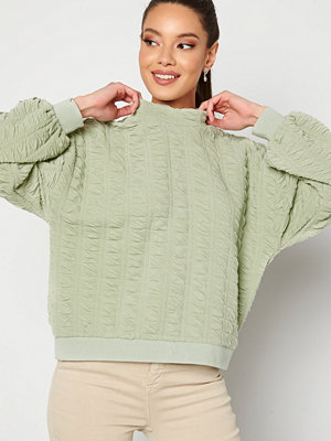 Pieces Retti Sweat Top Desert Sage