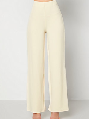 Bubbleroom byxor Petronella trousers Light beige